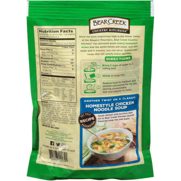 Bear Creek Country Kitchens® Chicken Noodle Soup Mix 9.3 oz. Pouch