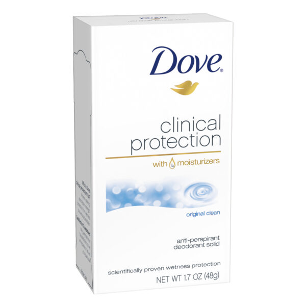 Dove Clinical Protection Original Clean Antiperspirant 1.7 Oz.