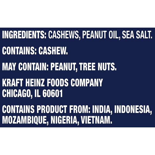 Planters Deluxe Lightly Salted Whole Cashews, 18.25 oz Canister