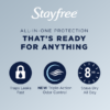 Stayfree Maxi, Super Pads Wingless, Unscented, 66 Ct
